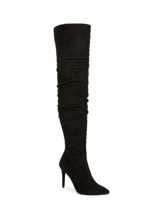 Jessica Simpson Ladee Black Suede