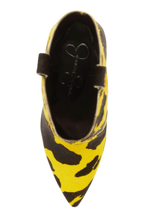 Jessica Simpson Pixille 2 Bright Yellow Calf Hair
