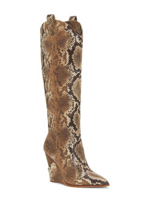 Jessica Simpson Havrie Totally Taupe Snake