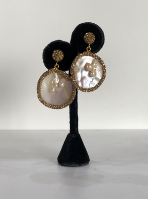 Tiffany Pearl Earring Gold