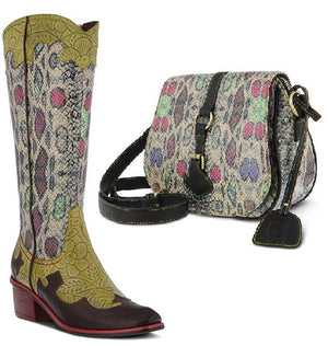 Rodeo Handbag Rainbow Multi