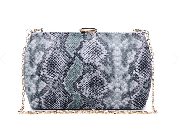 Nashville Large Clutch Green Multi