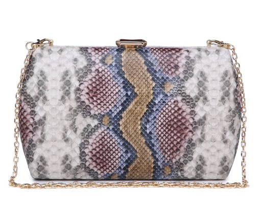 Nashville Large Clutch Natural Multi
