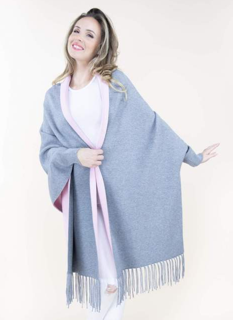 Brielle Shawl Grey