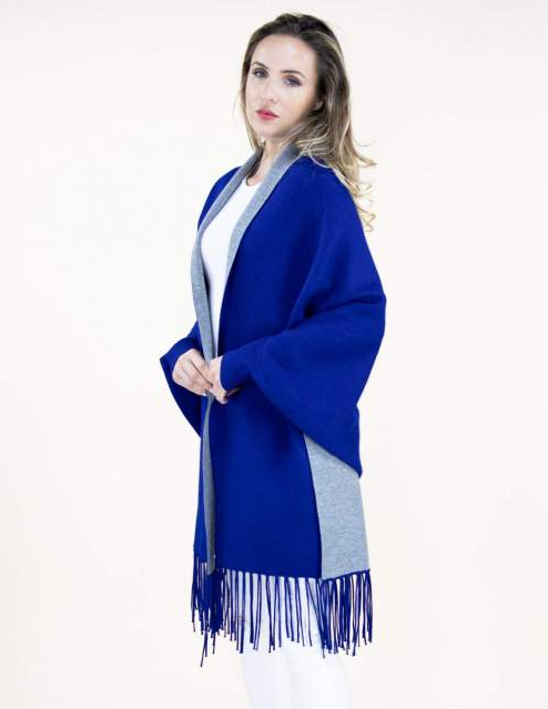 Brielle Shawl Blue