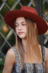 Olive & Pique Kaia Hat Rust