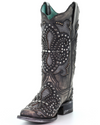 Corral Black Inlay Boot E1534
