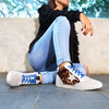 Star Struck Sneaker Leopard/Blue