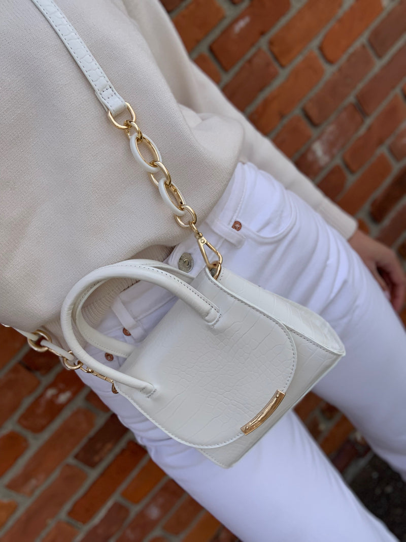 Maggie Mini Bag White