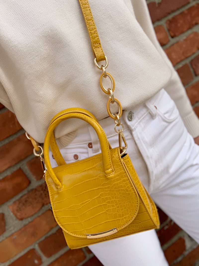 Maggie Mini Bag Lemon