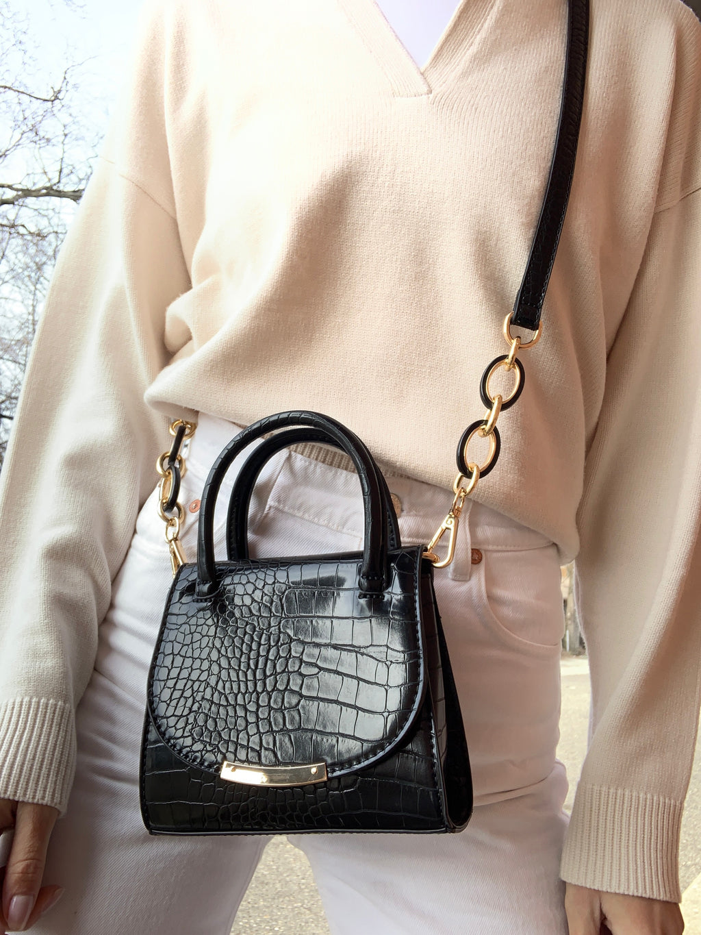 Maggie Mini Bag Black