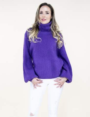 Carmen Sweater Purple