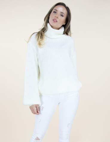 Carmen Sweater White