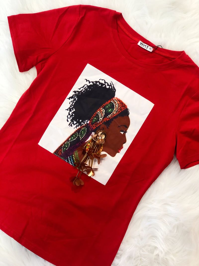 Jamari T-Shirt Red