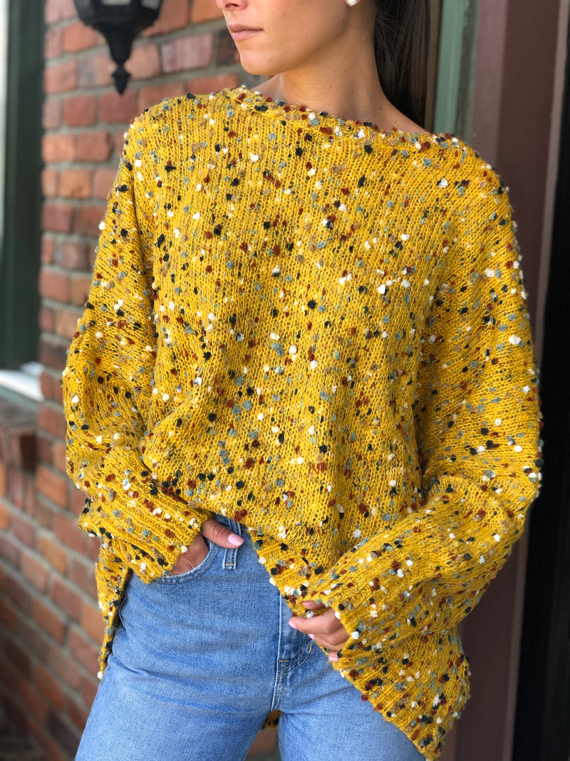 Brooklyn Sweater Mustard