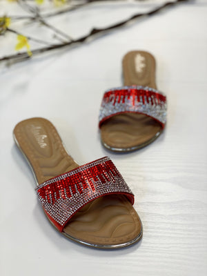 Bling Flat Red