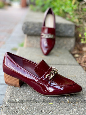 Marc Fisher Leker Burgundy Red