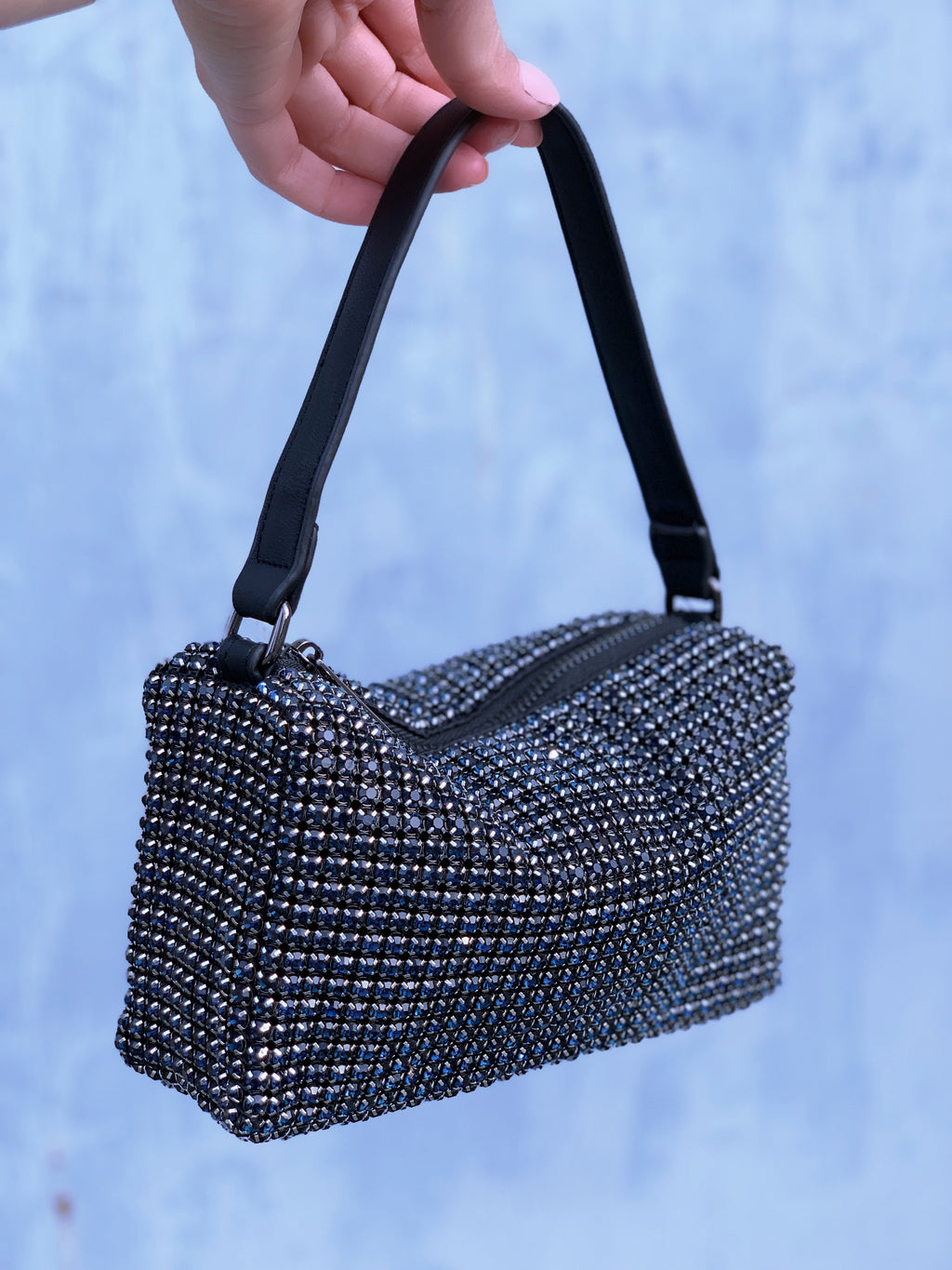 Crystal Bag Navy