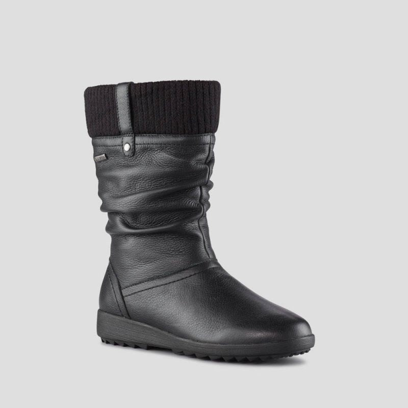 Cougar Vienna Black Leather Waterproof