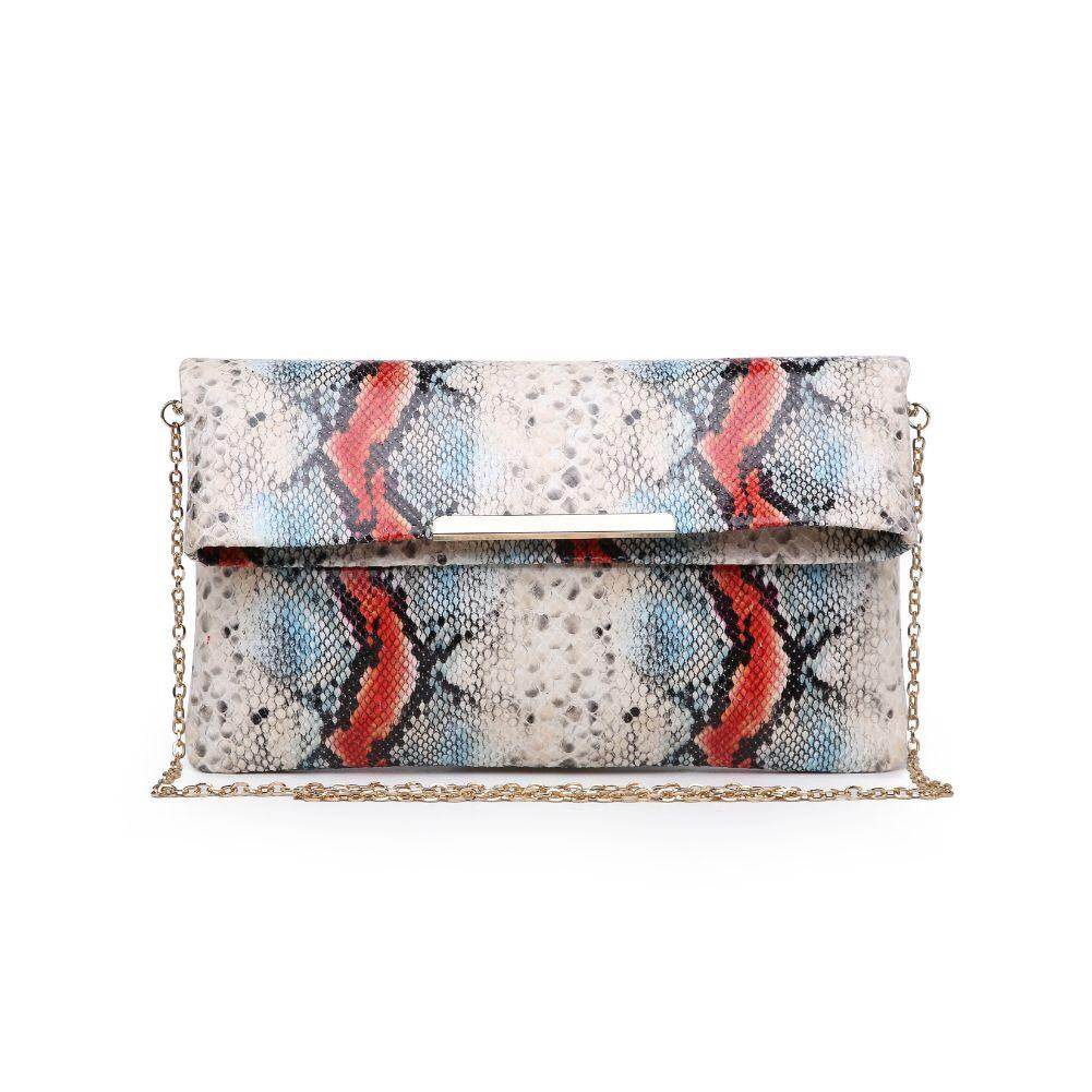Amber Clutch Beige Multi