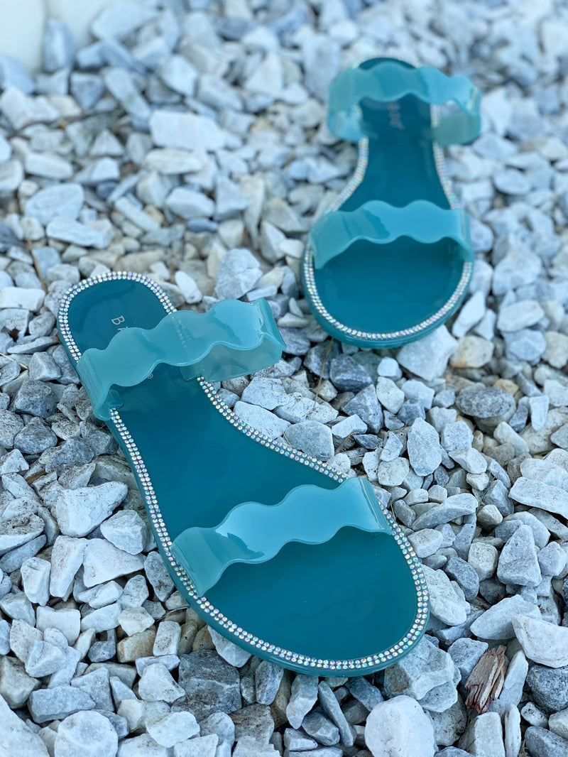 Juno Scalloped Jelly Mint