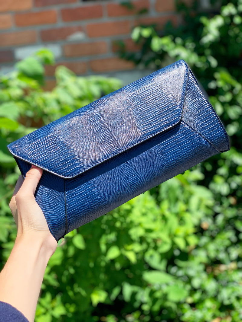 Dakota Clutch Midnight Navy
