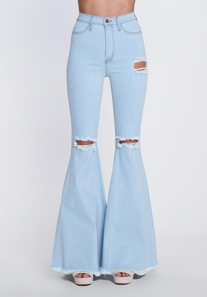 Frankie Flare Jean Light Stone