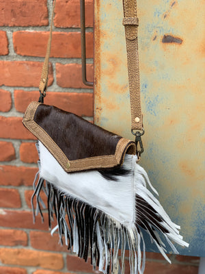 Sawyer Crossbody Dark Brown
