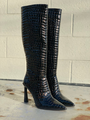 Pelsna Black Croco