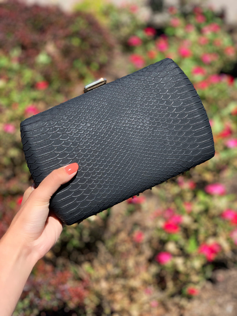 Nashville Large Clutch Black