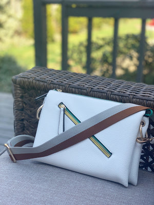 Khloe Crossbody White
