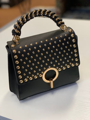 Valentina Mini Tote Black