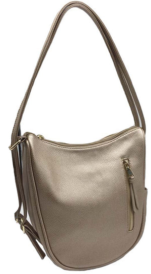 Jayla Hobo Gold Pebble