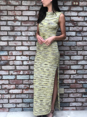 Amelia Maxi Dress Khaki Multi