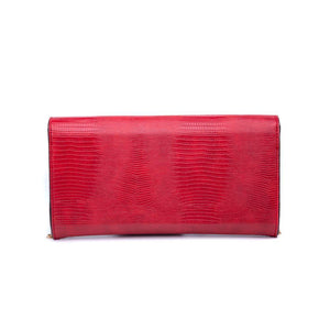 Dakota Clutch Red