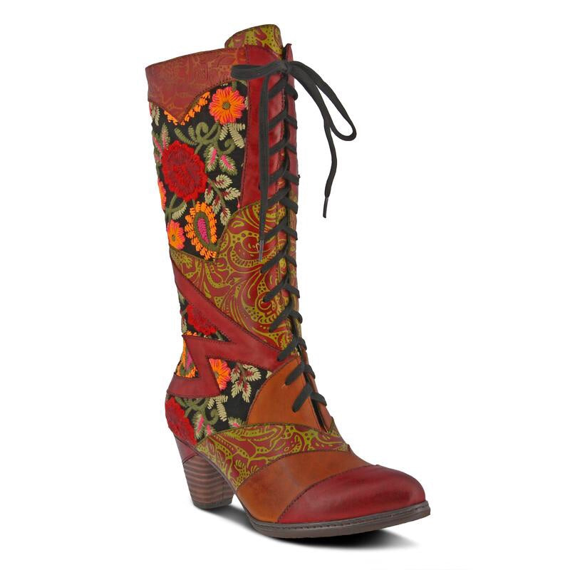 L'Artiste by Spring Step Malagie Red Multi