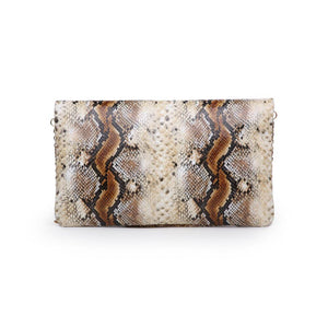 Amber Clutch Natural Multi