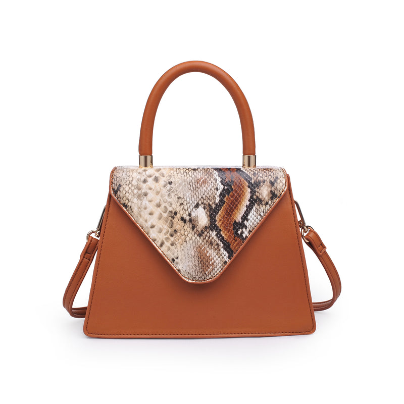 Willow Tote Tan Snake