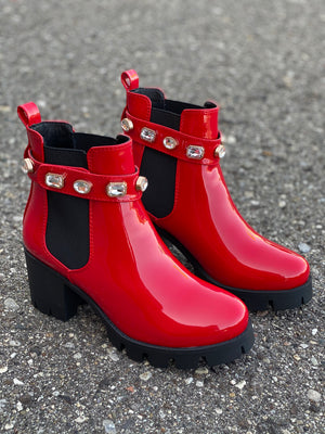 Loopy Red Patent