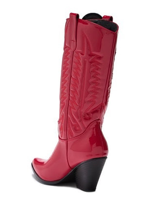 Southern Belle Red Patent