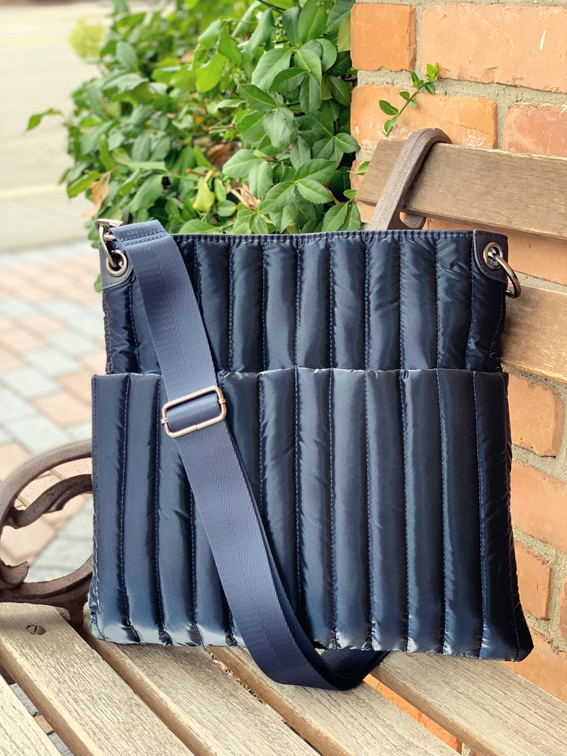 Navy Nylon Bag