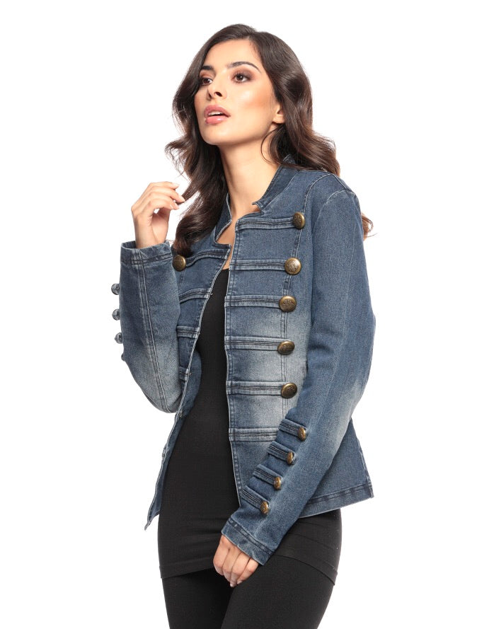 Ava Jacket Denim