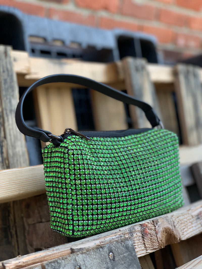 Crystal Bag Green