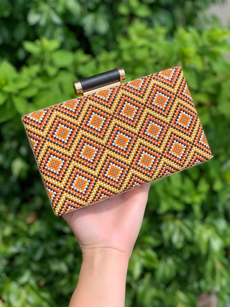 Bora Bora Clutch Orange