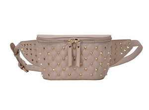 Studded Fanny Pack Nude