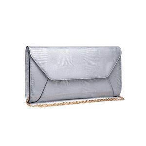 Dakota Clutch Silver