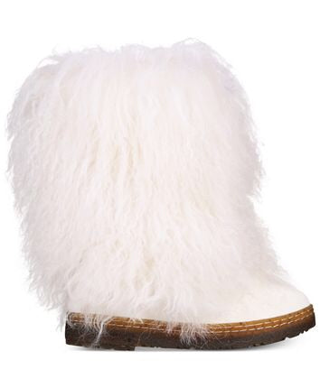 Bearpaw Boetis White