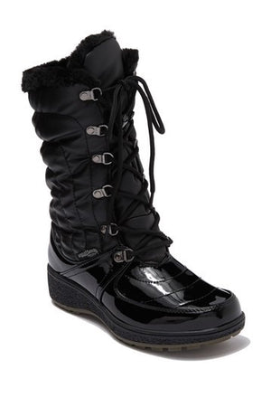 Aquatherm by Santana Canada Courtmid Black Patent