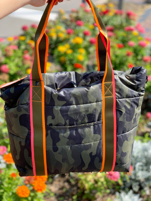 Haute Shore Jaime Catch Tote Camo