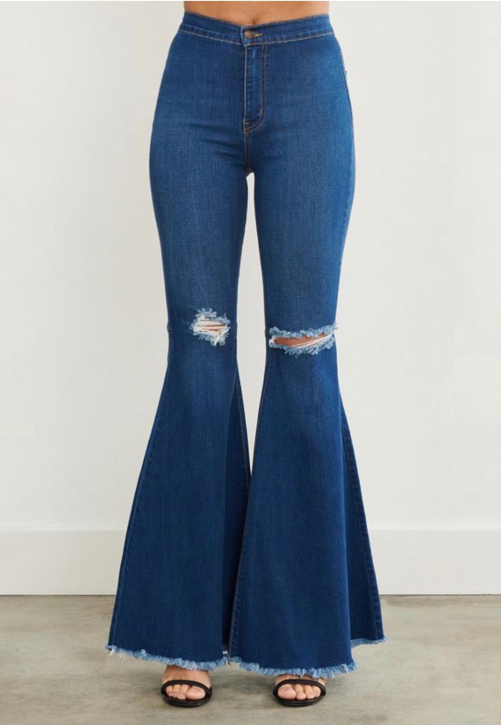 Margo Flare Jeans Medium Blue